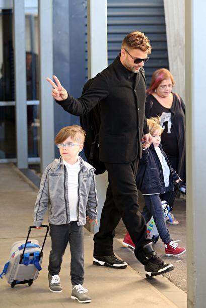 A pesar de ser gemelos Ricky los viste con diferente estilo a ambos pero...