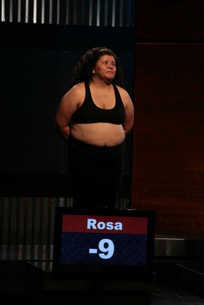 Para Rosa tampoco fue una semana fácil, pero la constancia le rin...