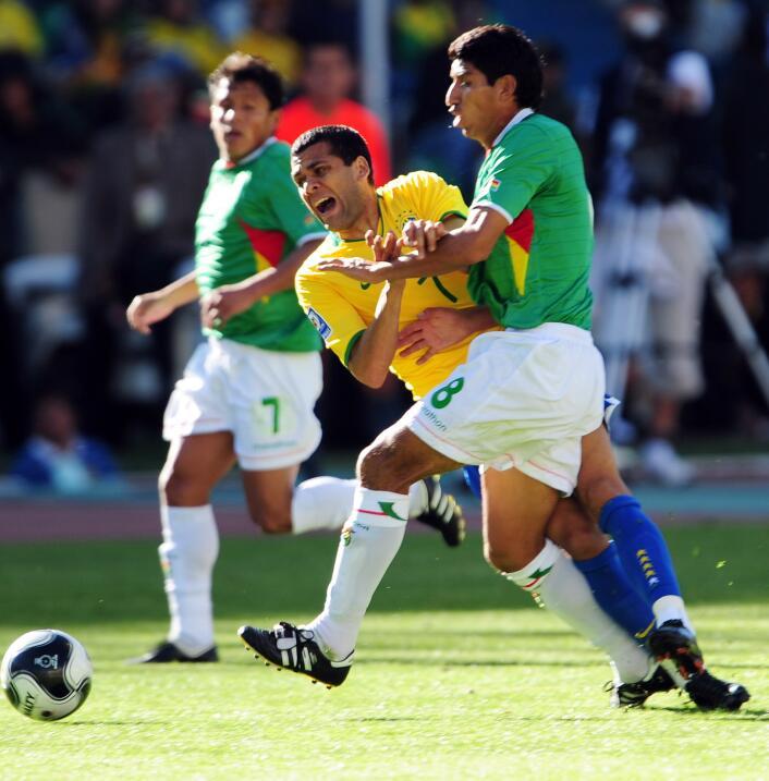 En un partido que no definía nada, Bolivia y Brasil no se hicieron daño...