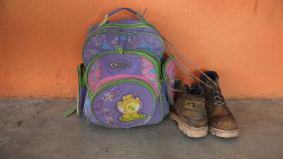 Las pertenencias de un inmigrante. (Imagen de Archivo).