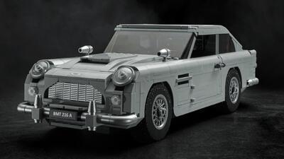 Lego hace realidad, con todo y 'gadgets', el Aston Martin DB5 de James Bond