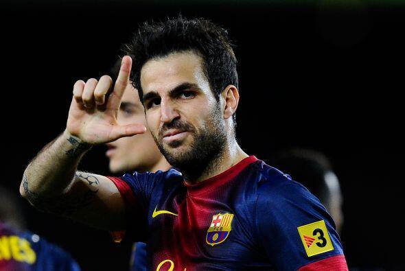 A falta de Messi Cesc Fábregas fue la estrella y acalló las críticas que...