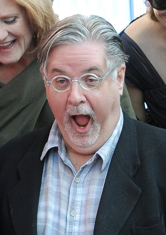 Matt Groening, creador de la serie, durante la inauguracion de su estrel...
