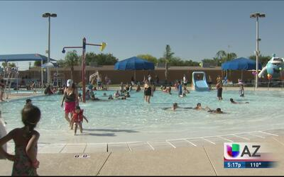Verano sano: clases de natación y CPR sin costo