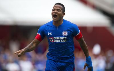El colombiano Andrés Rentería fue el autor del primer gol...