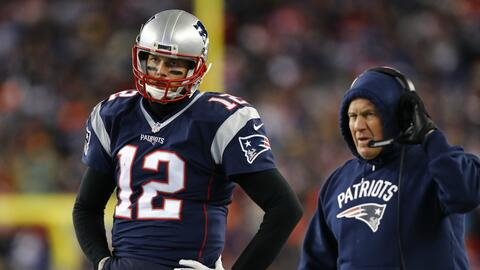 Brady y Belichick están juntos en New England desde 2000.