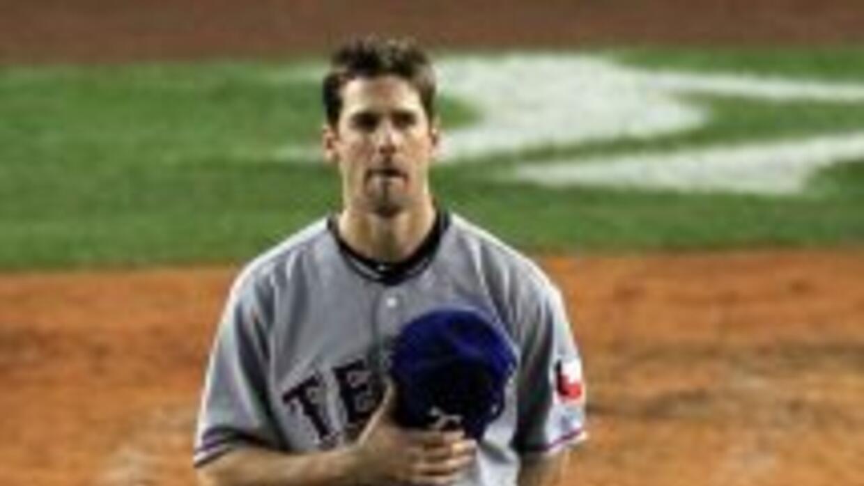 Cliff Lee llevó al triunfo a los Rangers de Texas.