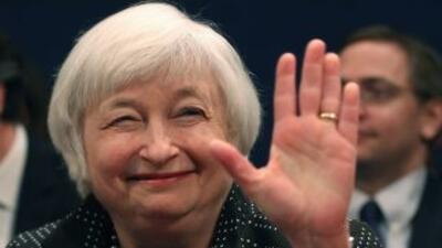 Janet Yellen, presidenta del banco central de Estados Unidos.