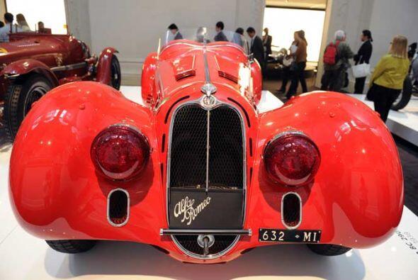 Alfa Romeo Alfa Roméo 8C 2900 Mille Miglia of 1938.