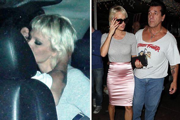 No ha pasado mucho desde que Pamela anderson confirmó su separación de R...