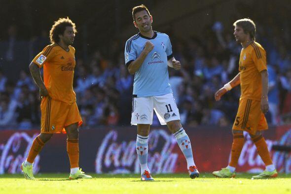 Charles colocaba el 1-0 en favor del Celta y el Real Madrid seguía mal y...
