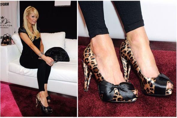 A Paris Hilton le encanta sacar su 'cat power', pero en esta ocasi&oacut...