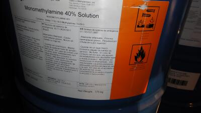 Químico para producir metanfetaminas