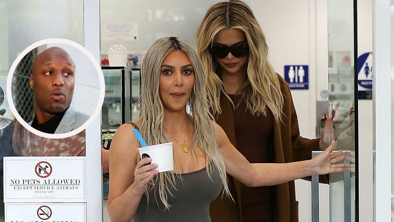 Lamar Odom, Kim Kardashian, Khloe Kardashian