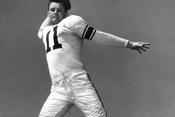 1. Norm Van Brocklin - 554 yardas: Los Angeles Rams vs. New York Yanks,...
