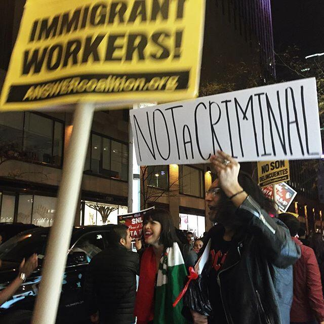 Protestas contra Trump en NY