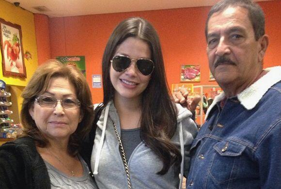 Ana Patricia pasó unos días con sus queridos padres. &iexc...