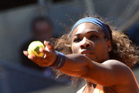 Serena mejoró su récord contra Sharapova a 13-2. Sus dos fracasos se pro...