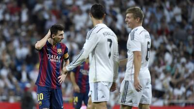 Messi vs Cristiano, el gran duelo de oro GettyImages-457844102.jpg