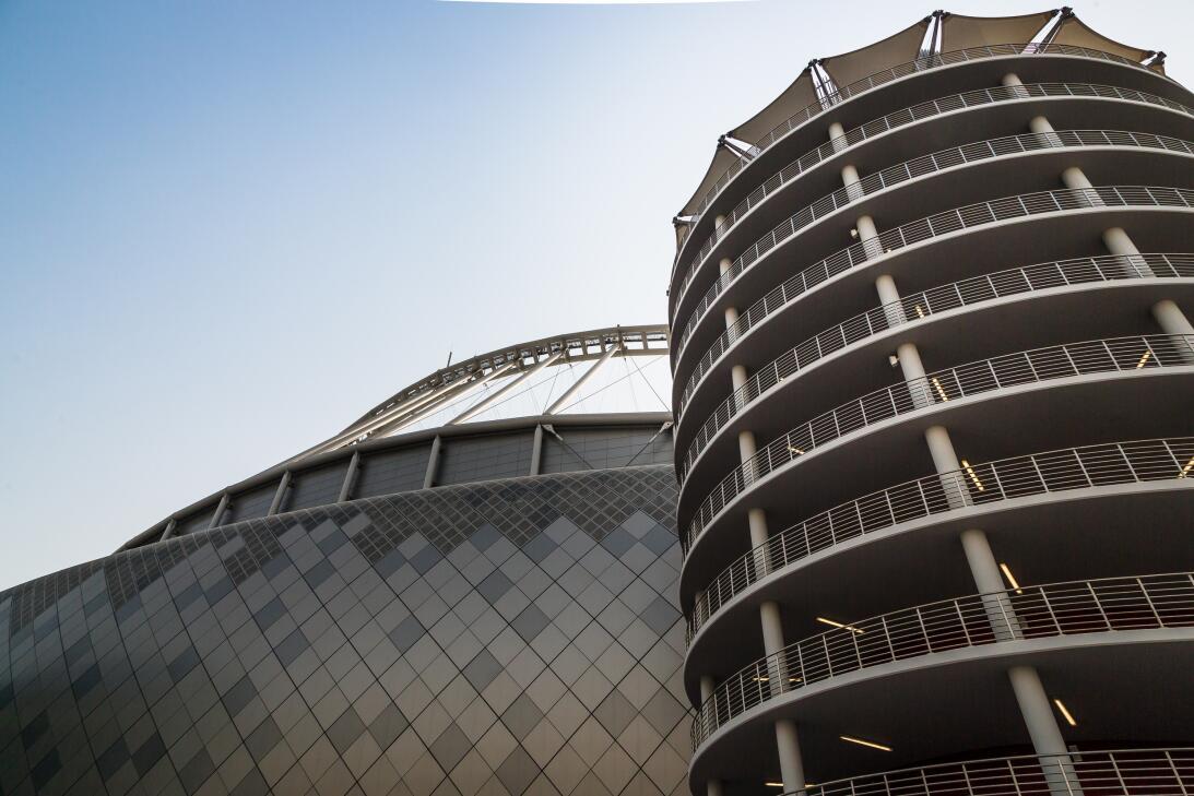 Así se ve el Khalifa International, el primer estadio refrigerado al air...