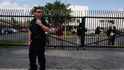 Las autoridades del sur de Florida evacuaron el Tribunal de Justicia de...