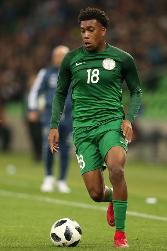 Grupo D. Alex Iwobi (Nigeria) - Ha jugado muy poco en esta temporada con...