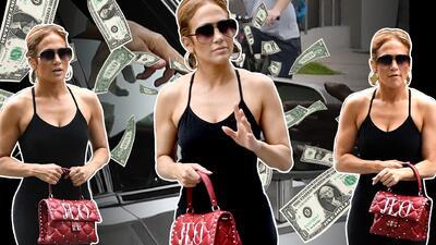 Thumbnail Jennifer López, bolso Valentino personalizado