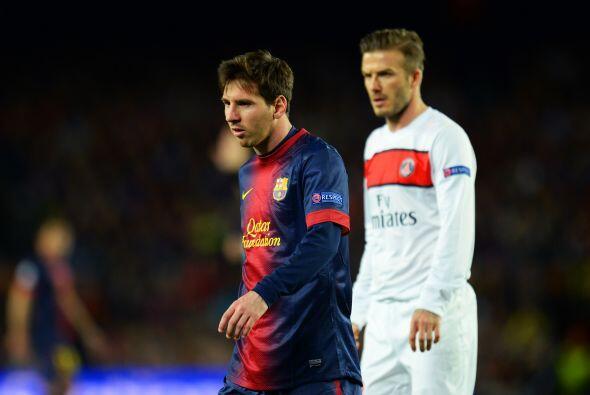El año pasado, el argentino fue superado por el inglés David Beckham, qu...