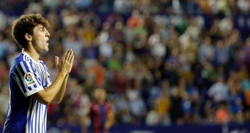 Real Sociedad y Carlos Vela fueron goleados por el Levante 6364163463204...