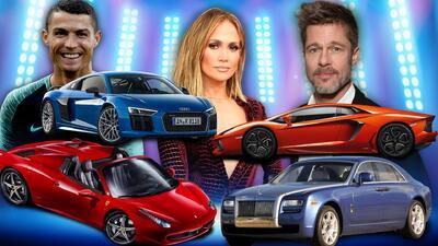 Las marcas de carros favoritas de los famosos