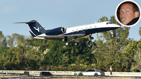 El avión que estrenó a mediados de diciembre Alex Rodr&iac...