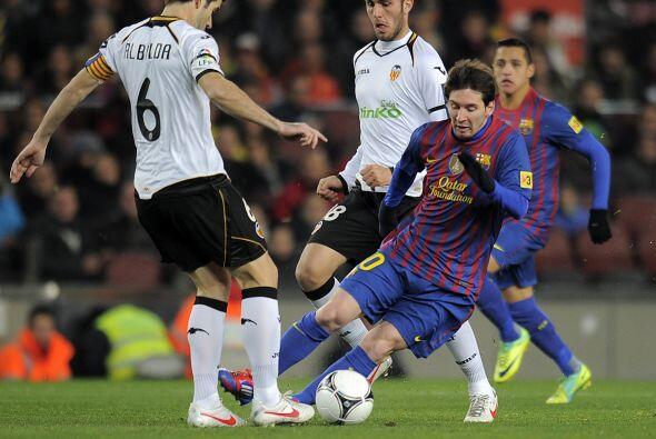 Barcelona encaró el partido de Vuelta de las Semifinales de la Co...