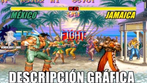 Memes México vs. Jamaica