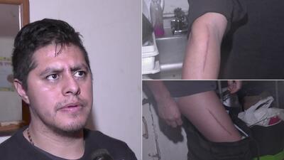 Tomás Jiménez fue atacado en la madrugada del pasado lunes 2 de febrero.