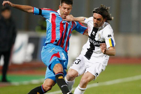 Parma intentó reaccionar y apretó las marcas.