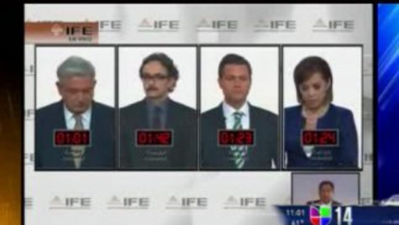 Segundo y último debate entre candidatos presidenciales México