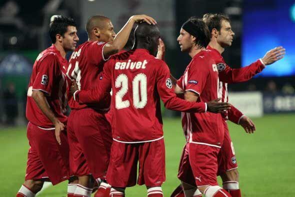 El Girondins ganó 1-0 en Israel al Maccabi y terminó invic...