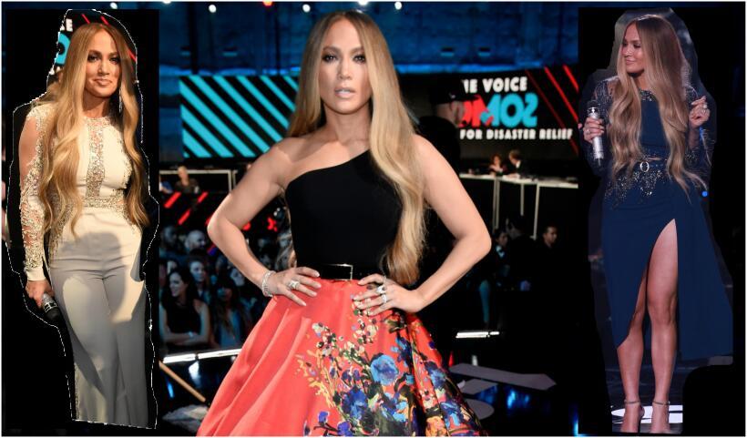 Estos fueron los looks de Jennifer Lopez