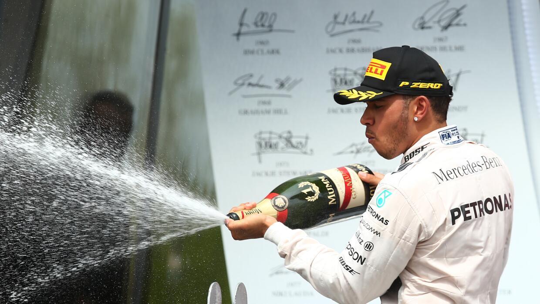 Por ahora Hamilton saca una buena tajada de puntos que le permiten más s...