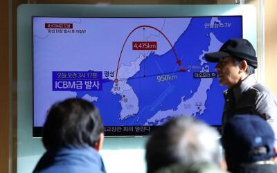 Medios en Corea del Sur informaron de la prueba norcoreana de este martes.