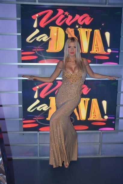 ¡!Espectacular vestido que eligió nuestra hermosa Sissi!