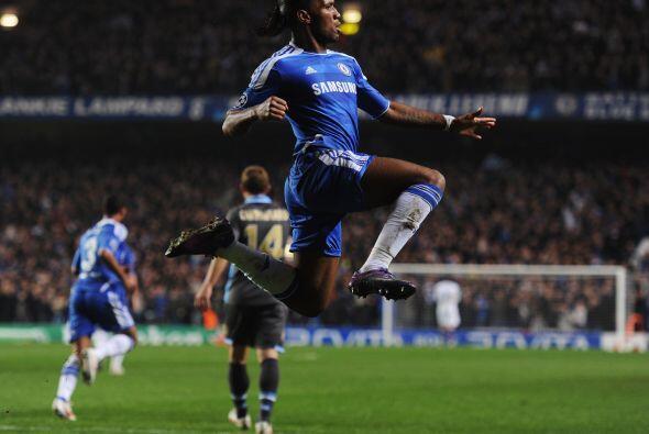 Drogba no deja de marcar goles en momentos importantes.