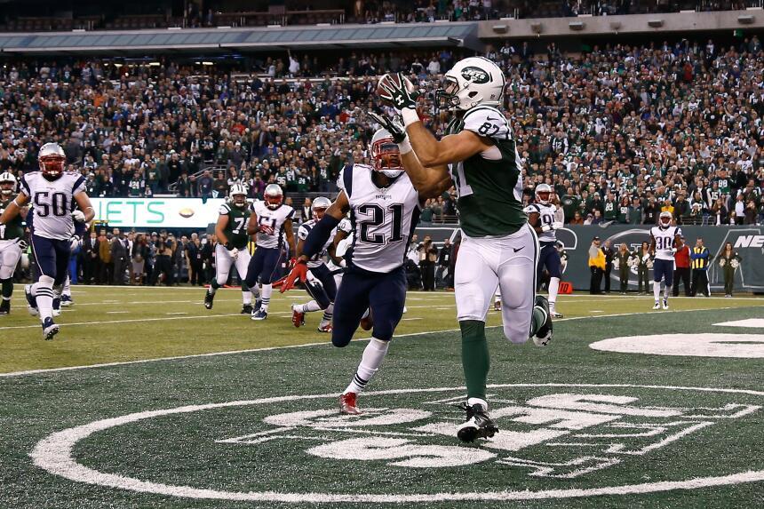 Mira las mejores tomas de la valiosa victoria de los Jets sobre los Patr...