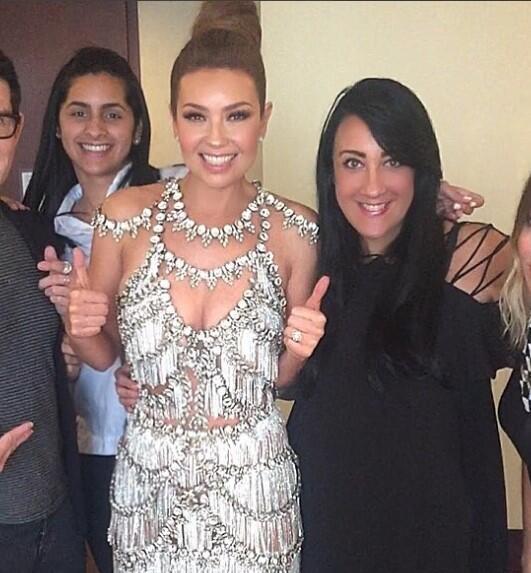 La cantante Thalía y la diseñadora Giannina Azar han desarrollado una re...