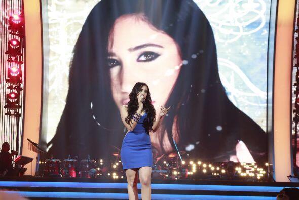 Geissie cantó en un duelo especial durante la gala 12.