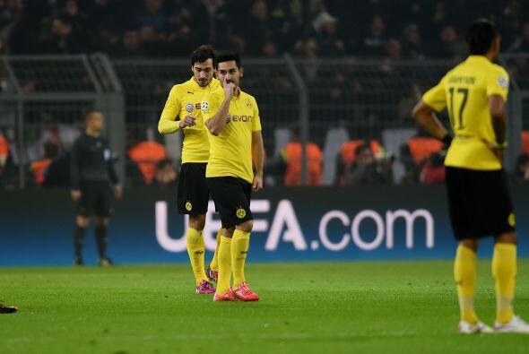 Al final el Borussia intentó meter el gol de la honra pero sin conseguirlo.