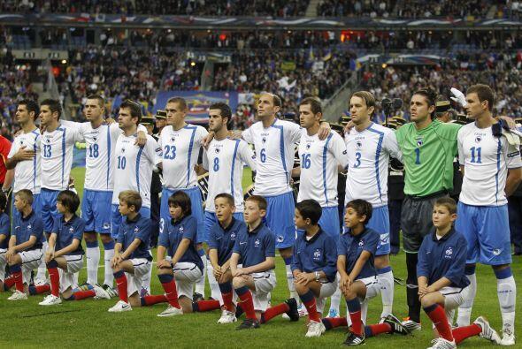 La Selección de Bosnia-Herzegovina aparece por primera vez en un...