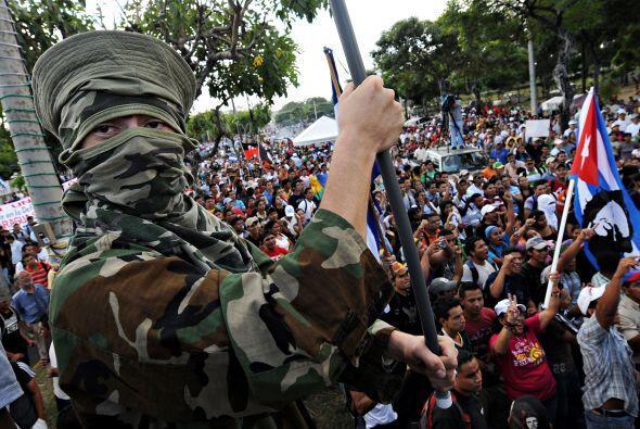 También hicieron visible su rechazo a las pretensiones de Costa Rica de...