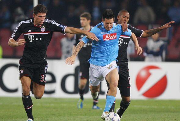 Nápoli sufrió ante el Bayern Munich y rescató un empate con sabor a vict...