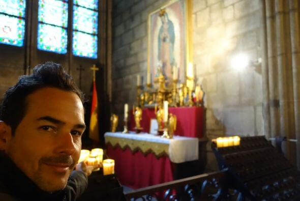 Este centro religioso fue construido para adorar a María, madre de Jesús...